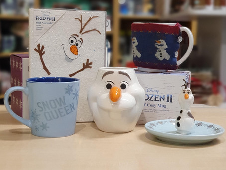 On The Fifth Week Of Christmas, The Geek Side Gave To Me... Frozen!
