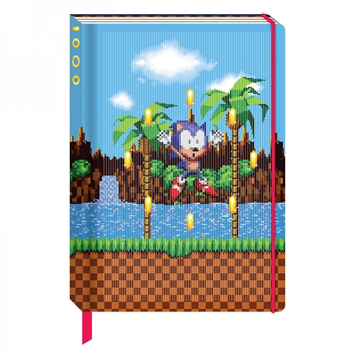 Sonic the Hedgehog Lenticular A5 Notebook