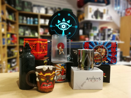 On The Sixth Week of Christmas, The Geek Side Gave to me... Gaming Gifts!