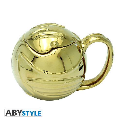 Harry Potter 3D Mug - Golden Snitch