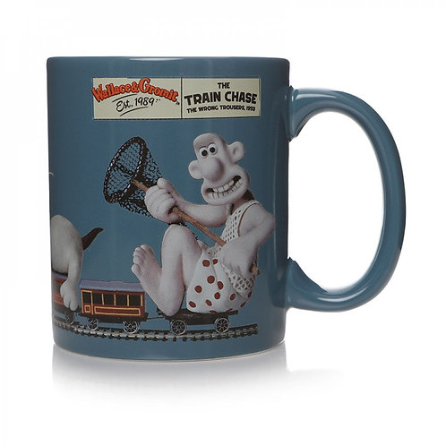 Wallace and Gromit Mug (Wrong Trousers)