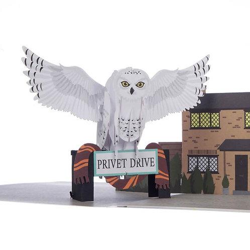 Harry Potter Hedwig Pop Up Card