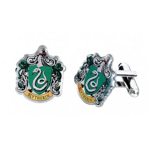 Harry Potter Slytherin Crest Cufflinks