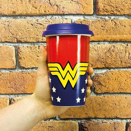 Wonder Woman Travel Mug