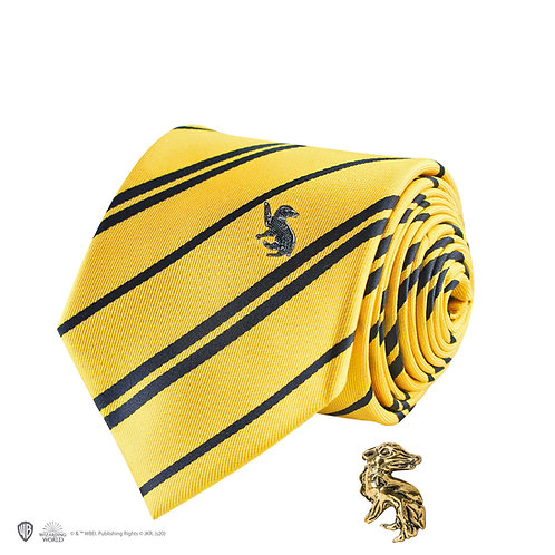 Harry Potter Hufflepuff Tie - Deluxe Edition
