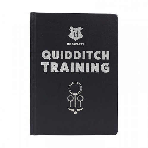 Harry Potter A5 Notebook - Quidditch Training