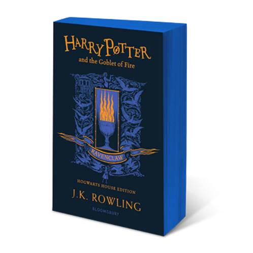 Harry Potter and the Goblet of Fire - Ravenclaw Edition Paperback