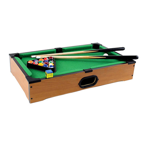 This Fantastic Table Top Pool Table Comes With Everything Required To Play  Pool. Whether You Enjoy Playing Eight Ball, Rotation Or One Pocket, ...
