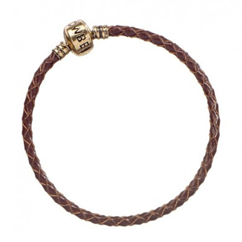 Fantastic Beasts Brown Leather Charm Bracelet