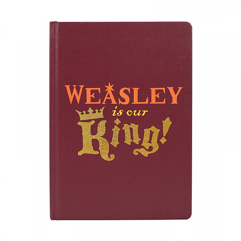 Harry Potter A5 Notebook - Weasley Is Our King