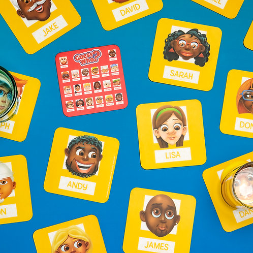 Guess Who Coasters