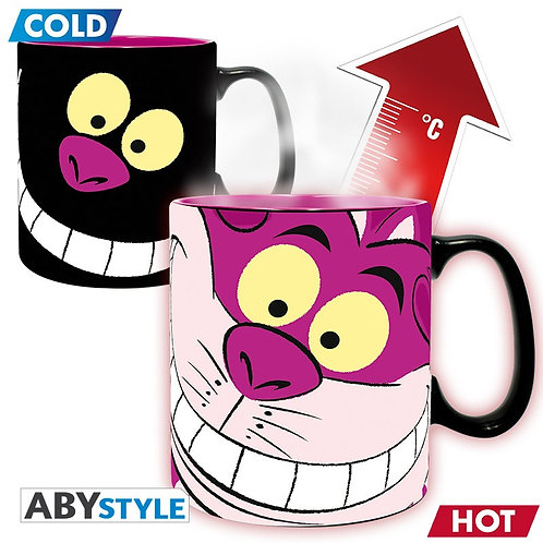 Disney Alice In Wonderland Cheshire Cat Heat Change Mug
