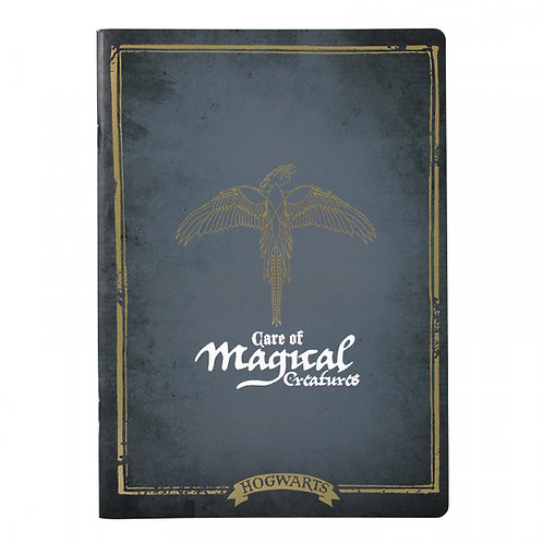Harry Potter Exercise Book - Magical Creatures