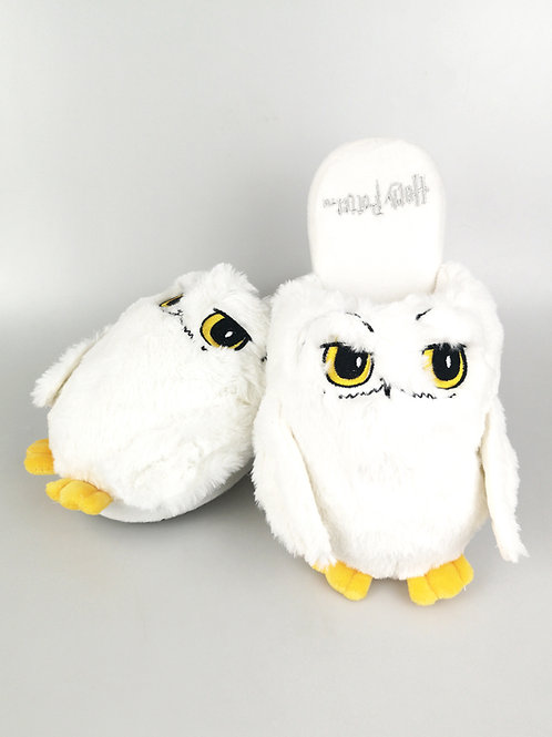 Harry Potter Hedwig White Ladies Slippers