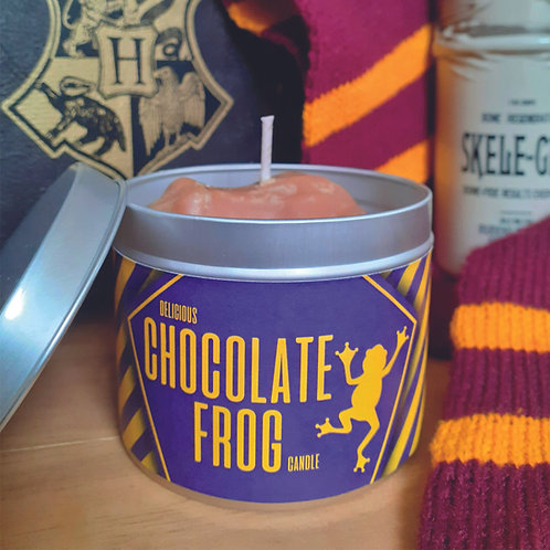 Chocolate Frog Candle