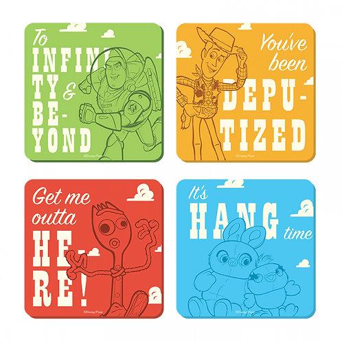 Disney Toy Story Coasters - Set of 4