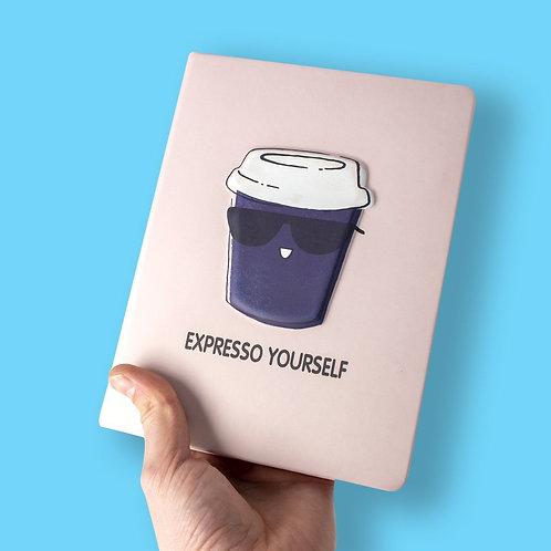 Puff Notebook - Coffee Mug