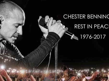 Chester Bennington RIP and Male Suicide