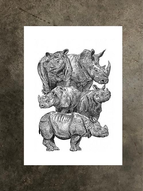 art prints by quan :: horns