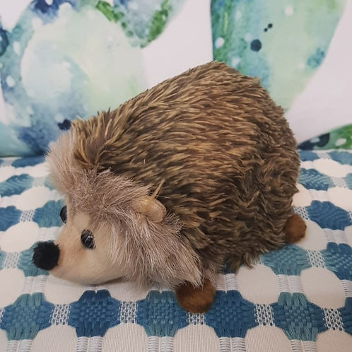 Cuddly hedghehog plushie