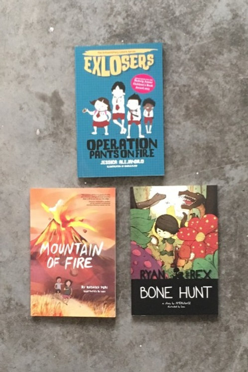 The Intermediate Reader Pack (for ages 8-11)