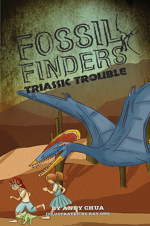 Fossil Finders 3: Triassic Trouble (display copy)