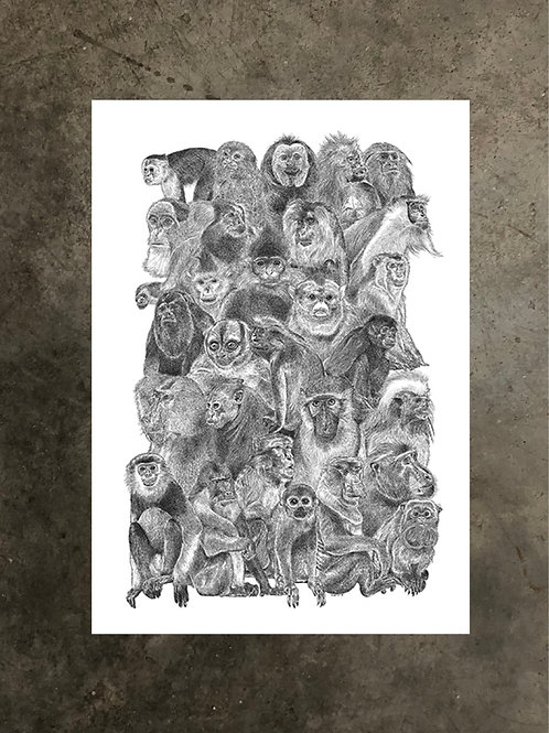 art prints by quan :: relatives
