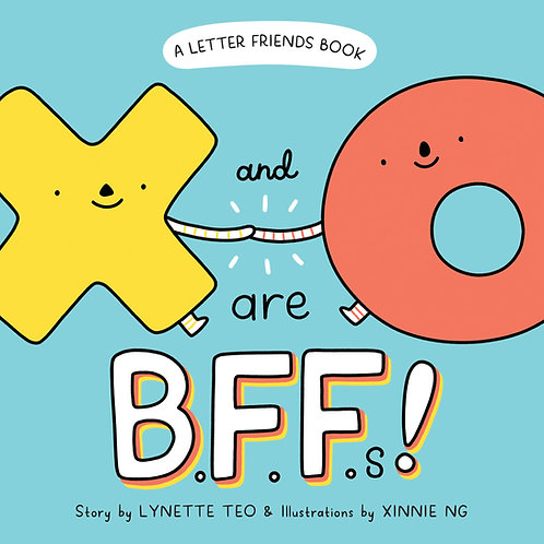 Letter Friends: X and O are BFFs! (Display copy)
