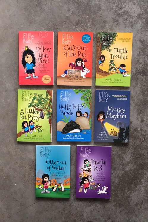Ellie Belly Book Set [includes gift box]