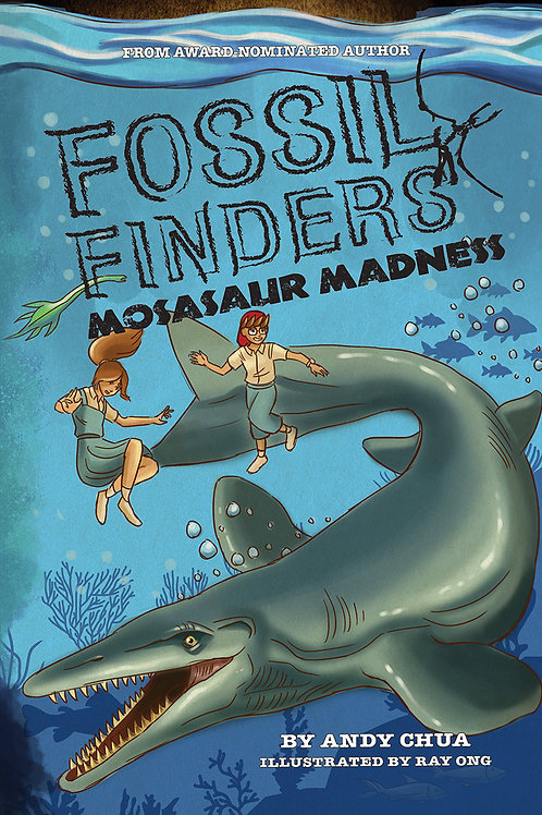 Fossil Finders 4: Mosasaur Madness