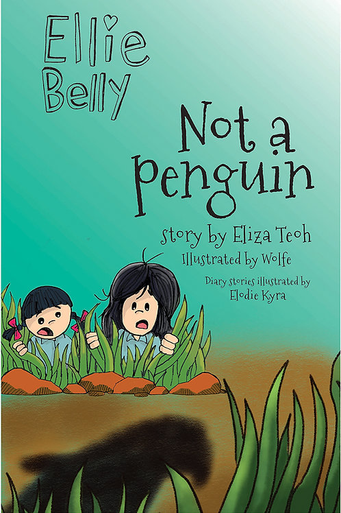 Ellie Belly 9: Not a Penguin (Display Copy)