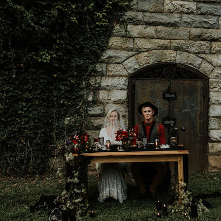 WITCHY ROMANCE WEDDING INSPIRATION