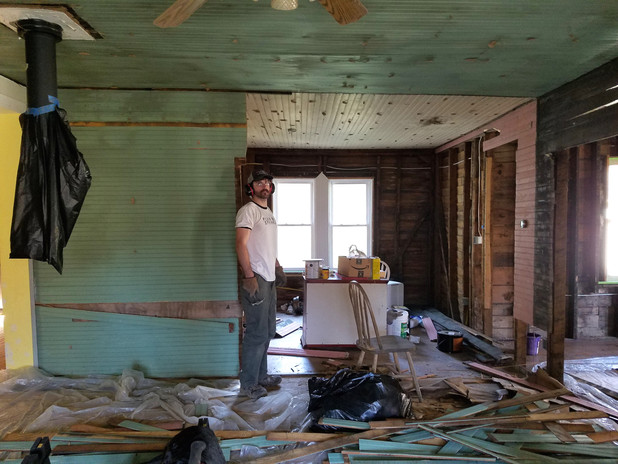CROOKED HOUSE CLUB   RENOVATIONS 2017