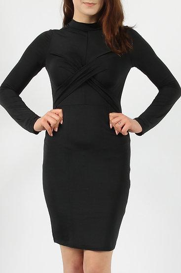 Cross Bodycon Dress