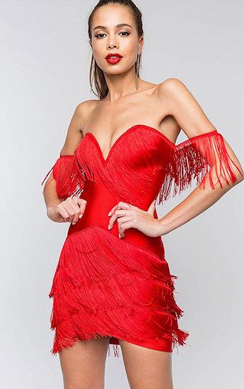Summer Night Fringe Dress
