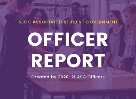 Student Trustee Report for September 18, 2020 Meeting