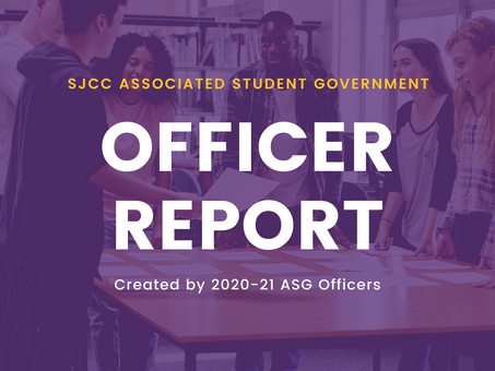 Student Trustee Report for October 23, 2020 Meeting