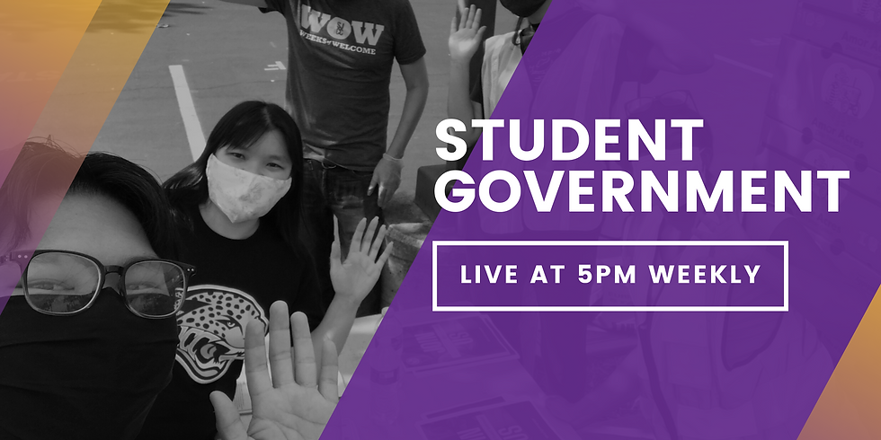 Weekly Student Government Meeting