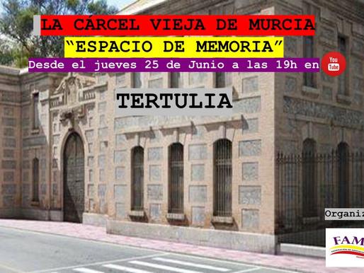 La FAMHRM organiza una tertulia sobre la «Cárcel Vieja» de Murcia