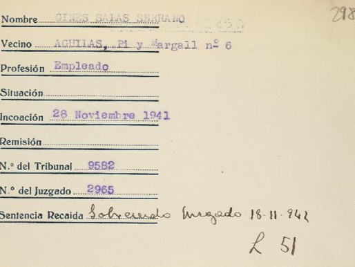 Tras la huella de Ginés Salas Serrano (I): presentación de la investigación