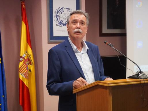 El catedrático Pedro M. Egea Bruno recibe el 'Premio Memoria Histórica 2020'