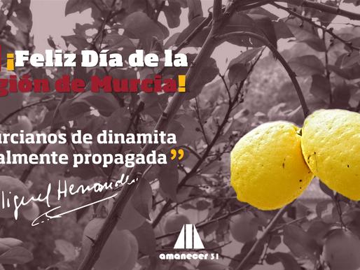 ¡Feliz día de la Región! Murcia celebra 38 años de autonomía