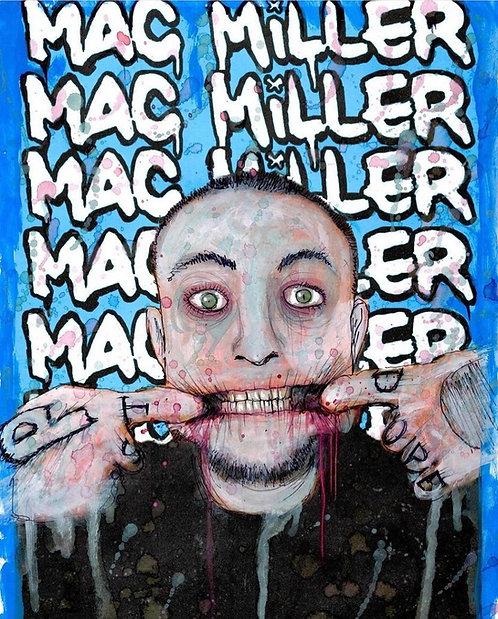 """""""Mac Miller"""" print"""