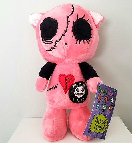 """Boogily Heads """"Kitix"""" talking plush by Gus Fink"""
