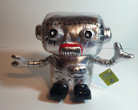 """Scantron"" soft robot sculpture"