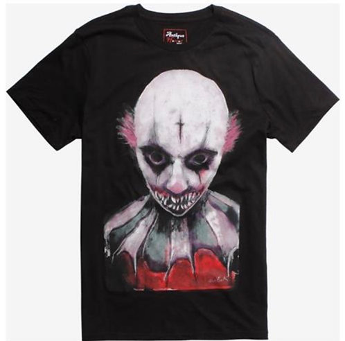 "Antique horror Shirt ""Killer Clown"" email for size"