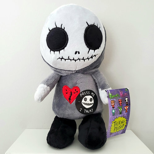 """Boogily Heads """"Skull Gnome"""" talking plush by Gus Fink"""