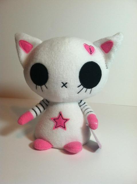 """""""Miko"""" plush kitten doll"""