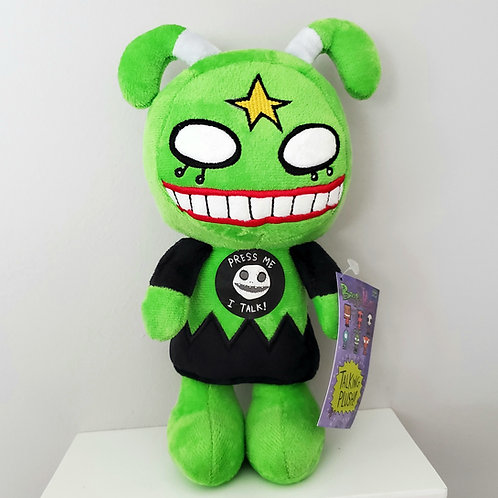 """Boogily Heads """"Charlie Black"""" talking plush by Gus Fink"""