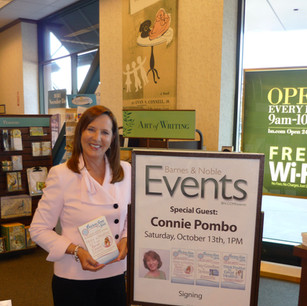 Barnes & Noble Book Signing San Mateo, California